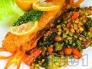 Снимка на рецепта Панирана бяла риба по холандски